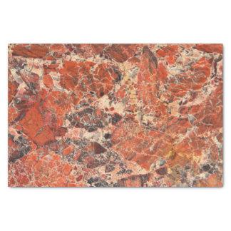 Breccienartiges Jaspis-Stein-Muster Seidenpapier