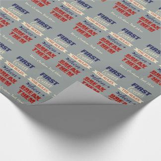 Brechen des Regelgewohnheits-Packpapiers Geschenkpapier