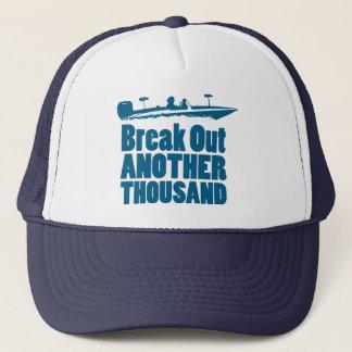Brechen Sie ein anderes tausend aus Truckerkappe