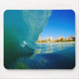 Brechende Welle, gefangen genommen von Marck Botha Mauspads