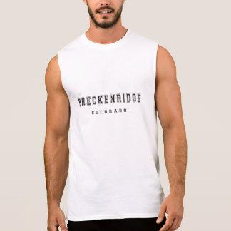 Breckenridge le Colorado Tee-shirt Sans Manches