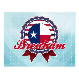 Brenham, TX Postkarte