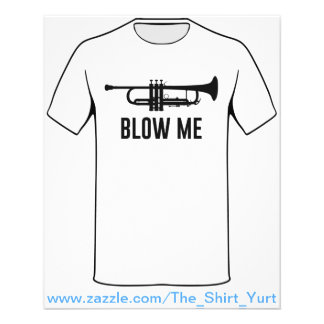Brennen Sie mich Trompete durch