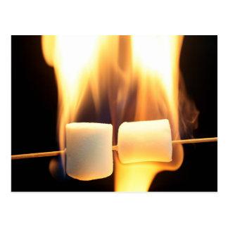 Brennende Eibische Postkarte