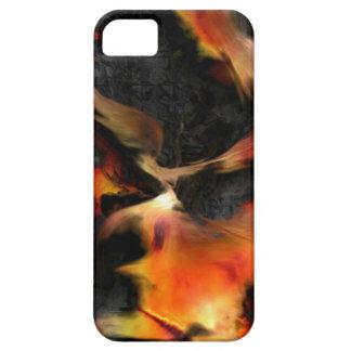 Brennende Flammen iPhone 5 Hüllen