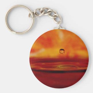 Brennende Wasser-Kugel Schlüsselanhänger