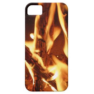 Brennender hölzerner Handy-Fall iPhone 5 Schutzhülle