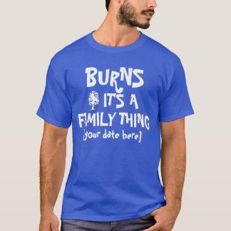 Brennt Familie Wiedersehen T-Shirt
