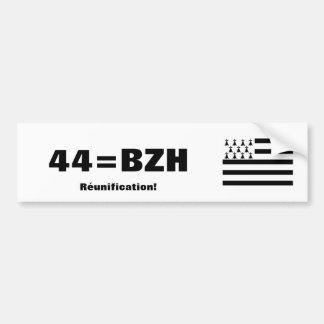 Bretagne-Wiedervereinigungs-Autoaufkleber Autoaufkleber