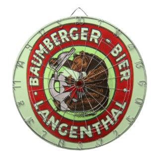 Brewerie Baumberger Langenthal, die Schweiz Dartscheibe