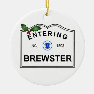 Brewster MA Keramik Ornament