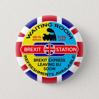 Brexit Runder Button 5,7 Cm