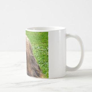 Briard fauve kaffeetasse