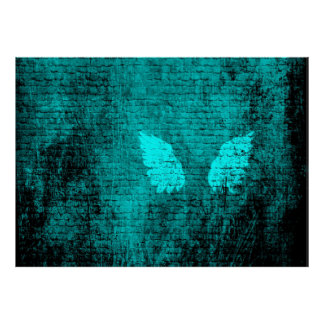 Bricked Wings Plakat