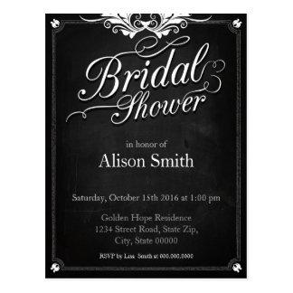 Bridal Shower Postkarte