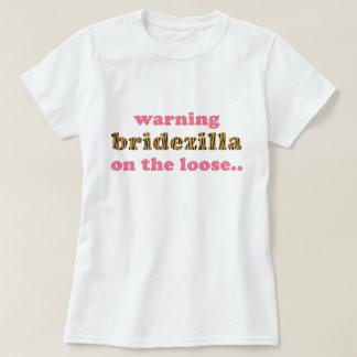Bridezilla auf dem losen | Spaß Tigerprint T - T-Shirt