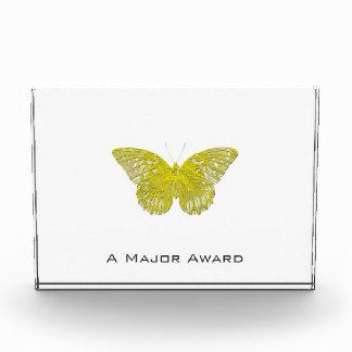 Briefbeschwerer-Schmetterling Acryl Auszeichnung