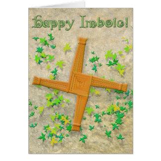 Brighid Kreuz Mitteilungskarte