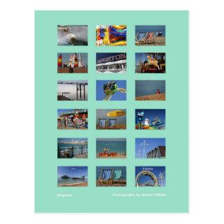 Brighton-Postkarte Postkarte