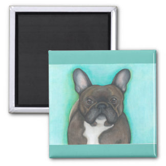 Brindle Magnet der französischen Bulldogge