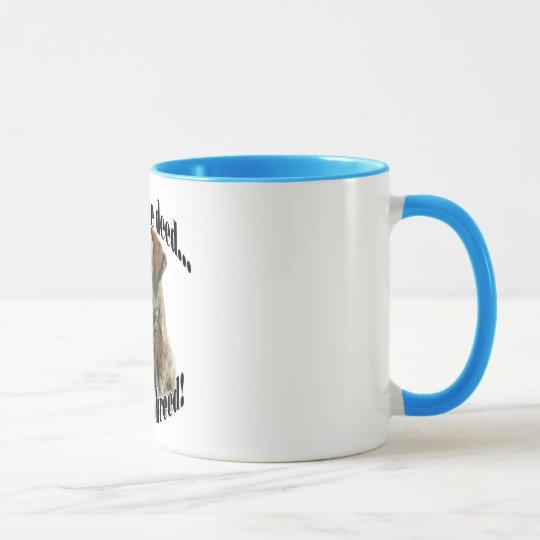 Brindle Mastiff bestrafen die Brief-Tasse Tasse