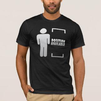 Bringen Sie verfügbares Shirt für einen Single-Typ