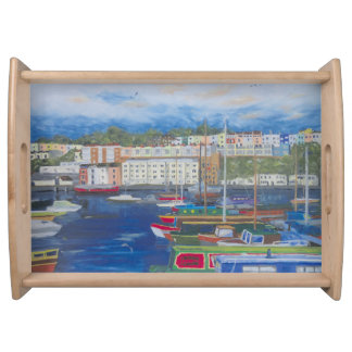 Bristol-Jachthafen-Frühstück Tablett