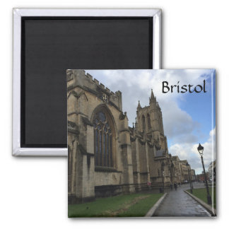 Bristol-Kathedrale Quadratischer Magnet