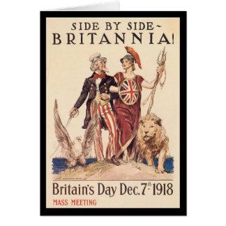 Britannia Zweiter Weltkrieg Karte