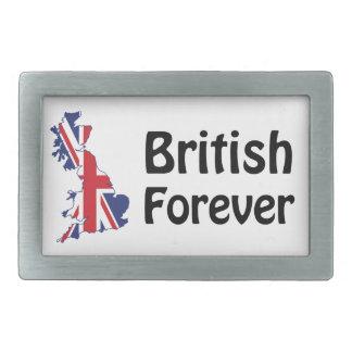Briten für immer rechteckige gürtelschnallen