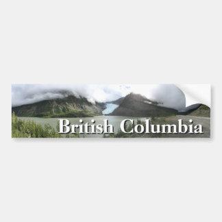 Britisch-Columbia-Gletscher Autoaufkleber