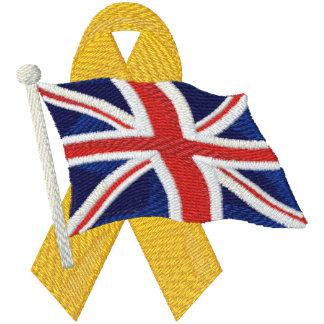 Britisch - stützen Sie unsere Truppen Bestickte Freizeitjacke