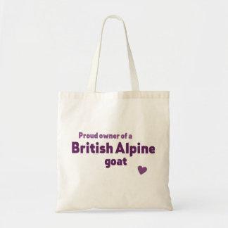 Britische alpine Ziege Tragetasche