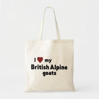 Britische alpine Ziegen Tragetasche