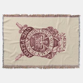 Britische Decke der Steuer-Briefmarken-1765