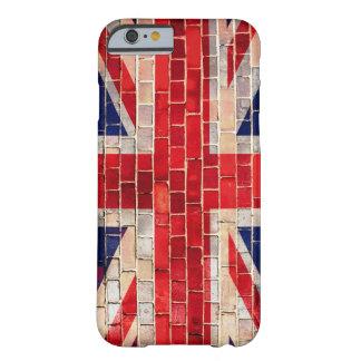 BRITISCHE Flagge auf einem Backsteinmauer iphone 6 Barely There iPhone 6 Hülle