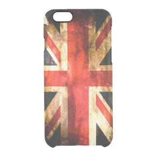Britische Flagge Durchsichtige iPhone 6/6S Hülle