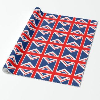 BRITISCHE Flagge England Geschenkpapier