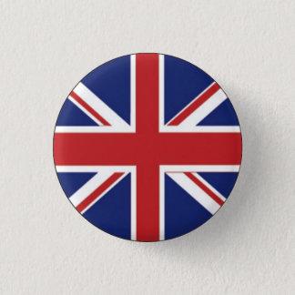 Britische Flagge Runder Button 3,2 Cm