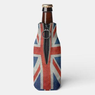 BRITISCHE Gewerkschafts-Jack-Flagge in den Flaschenkühler