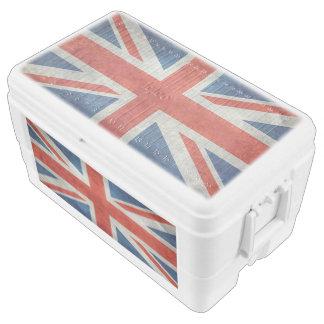 BRITISCHE Gewerkschafts-Jack-Flagge in den Kühlbox