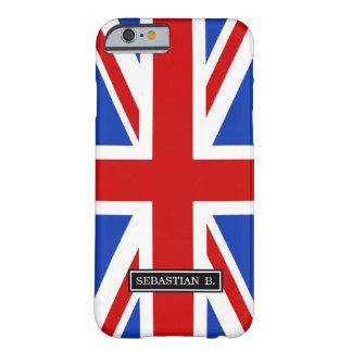Britische Königreich-Flagge Barely There iPhone 6 Hülle