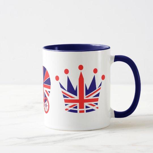 Britische Liebe, Baby, Kronen-Tasse Tasse