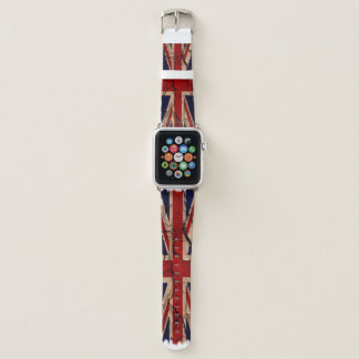 BRITISCHE schmutzige Vintage Apple Watch Armband