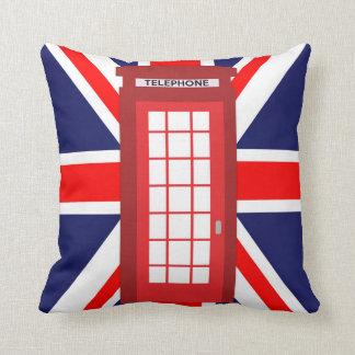 Britische Telefonkasten Gewerkschafts-Jackflagge Kissen