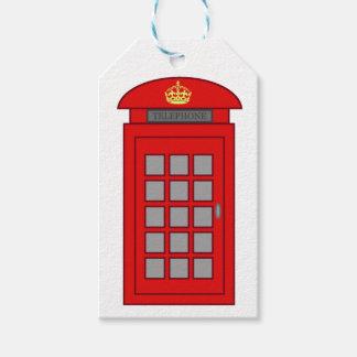 Britische Telefonzelle Geschenkanhänger