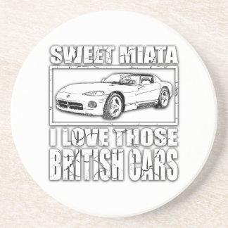 Britischer Autowitz Miata Viper Untersetzer