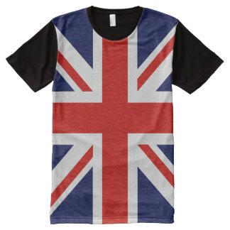 BRITISCHER Flaggen-blaues Rot-Weiß-T - Shirt