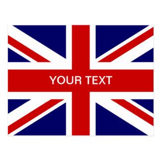 Britischer Flaggenpostkarten | Postkarte