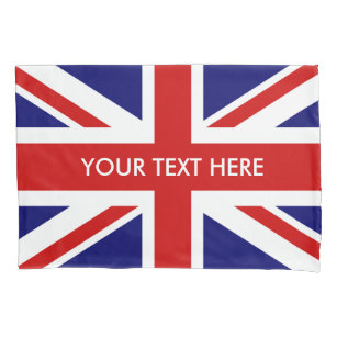 Britischer Gewerkschafts-Jackflaggenkissenbezug Kissenbezug